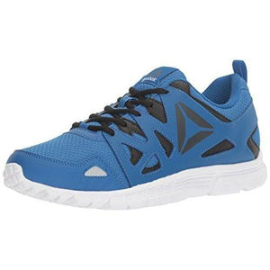 Reebok Men's Supreme 3.0 MT Running Shoe, Awesome Blue/Lead, 12 M US