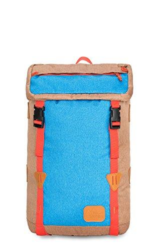 High Sierra Klettersack Backpack, Coconut/Sky/Red Rock
