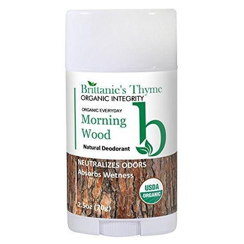 Organic Morning Wood Natural Deodorant For Men Easy To Apply Beauty & Health Brittanie's Thyme