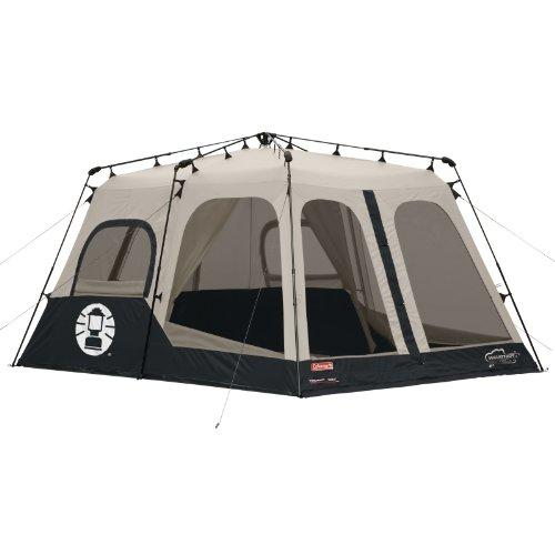 Coleman Instant 8 Person Tent, Black, 14x10-Feet