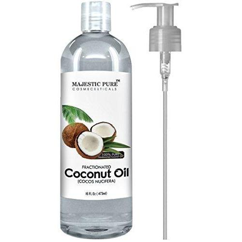 Fractionated Coconut Oil Beauty & Health Majestic Pure