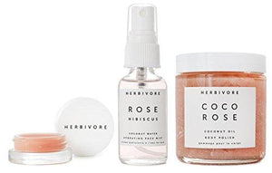 Herbivore Botanicals - All Natural Coco Rose Luxe Hydration Trio