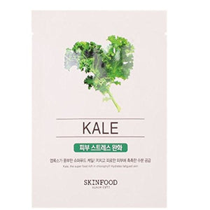 SKINFOOD Kale Beauty in a Food Mask Sheet, 50 Count