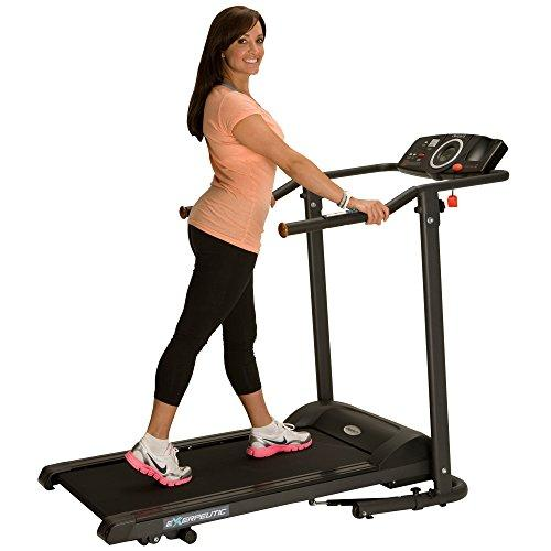 Exerpeutic TF1000 Ultra High Capacity Walk to Fitness Electric Treadmill, 400 lbs Sport & Recreation Exerpeutic