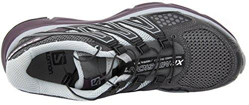 Salomon Women's XR Mission Trail Running Shoe (8.5 B(M) US, Magnent/Black/Purple)