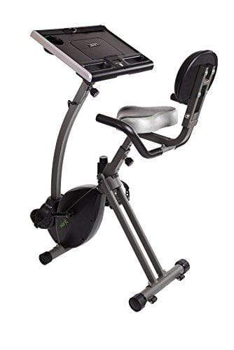 Wirk Ride Exercise Bike Workstation and Standing Desk Sport & Recreation Stamina