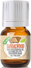 Sandalwood in Jojoba (30%/70% Ratio), Best Therapeutic Grade - 5ml