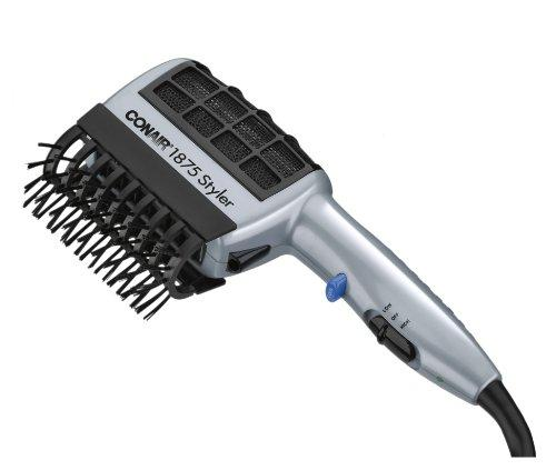 Conair 1875 Watt 3-in-1 Styling Hair Dryer with Ionic Technology; 3 Attachments to Detangle / Straighten / Volumize
