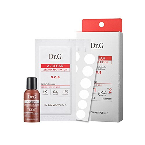 Dr.G A-Clear Aroma Spot Patch + Aroma Spot Toner Pimple Care