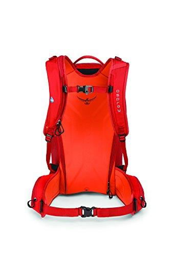 Osprey Packs Men's Kamber 32 Ski Pack, Ripcord Red, Small/Medium