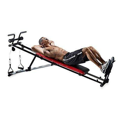 Weider Ultimate Body Works Adjustable Incline Exercise Bench Sport & Recreation Weider