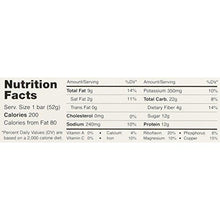 Whole Food Protein Bar, Chocolate Sea Salt, 12 Count