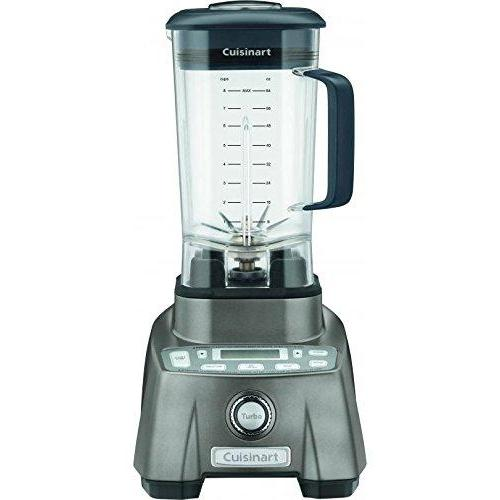 Cuisinart CBT-2000 3.5 Peak Hurricane Pro Blender, Gun Metal Kitchen & Dining Cuisinart
