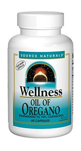 Source Naturals Wellness Oil of Oregano 45mg - 60 Veggie Caps