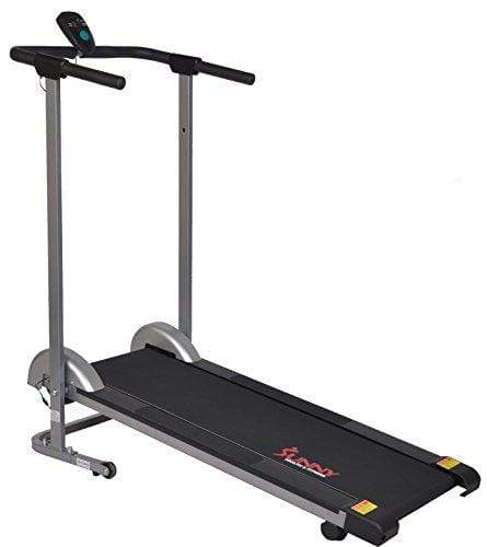 Sunny Health & Fitness SF-T1407M Manual Walking Treadmill, Gray Sport & Recreation Sunny Health & Fitness