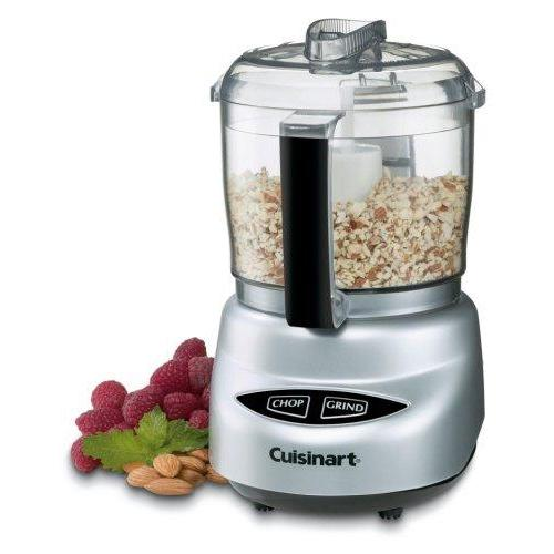 Cuisinart DLC-2ABC Mini Prep Plus Food Processor Brushed Chrome and Nickel Kitchen & Dining Cuisinart