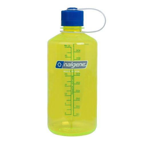 Nalgene Tritan 1-Quart Narrow Mouth BPA-Free Water Bottle, Safety Yellow Sport & Recreation Nalgene