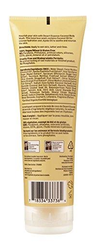 Desert Essence Coconut Body Wash (2pk) - 8 fl oz