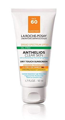 La Roche-Posay Anthelios Clear Skin Sunscreen SPF 60, 1.7 Fl. Oz.