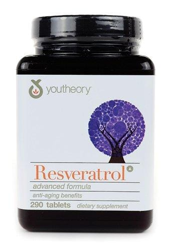 youtheory Resveratrol Advanced Anti-Aging Formula, 0.80 Pound ( Multi-Pack)