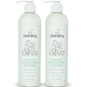 Organic Hand and Body Lotion Beauty & Health Puracy