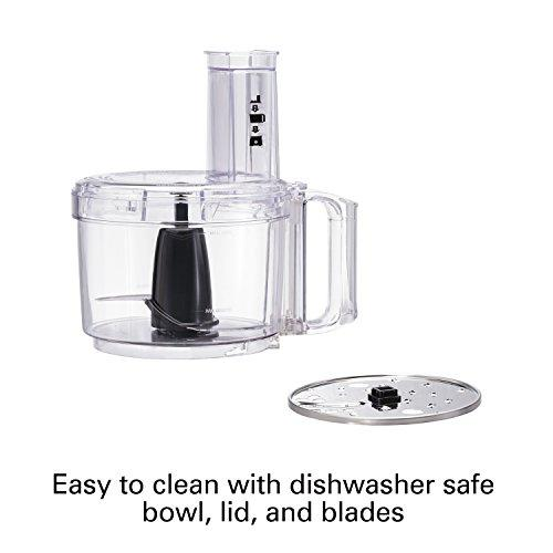 Hamilton Beach 70740 8-Cup Food Processor, Black Kitchen & Dining Hamilton Beach