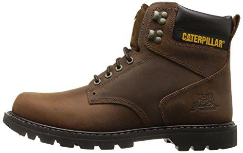 Caterpillar Men's Second Shift Work Boot,Dark Brown,8.5 M US