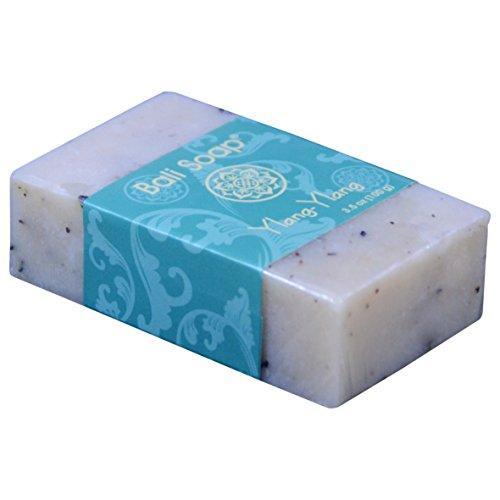 Bali Soap - Ylang-Ylang Natural Soap Bar, Face or Body Soap Best for All Skin Types, For Women, Men & Teens, Pack of 3, 3.5 Oz each