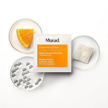 Murad Rapid Resurfacing Anti-Aging Peel - (16 pack), A Powerful Blend of 10% Glycolic Acid and Vitamin C That Instantly Retexturizes Skin, Enhances Radiance, and Evens Tone Without Irritation.