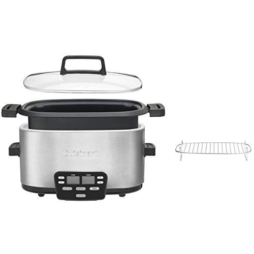 MSC-600 3-In-1 Cook Central 6-Quart Multi-Cooker: Slow Cooker, Brown/Saute, Steamer Kitchen & Dining Cuisinart