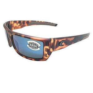 Costa Del Mar Rafael 580G Retro Tortoise /Blue Polarized Sunglasses