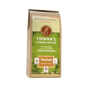 Tieman's Fusion Coffees, Medium Fusion (Ground)(Pack of 2)