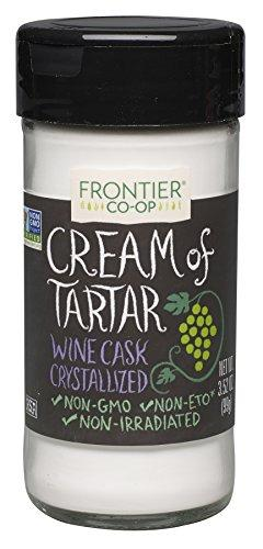 Frontier Cream of Tartar, 3.52 Ounce Bottle Food & Drink Frontier