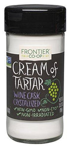 Frontier Cream of Tartar, 3.52 Ounce Bottle