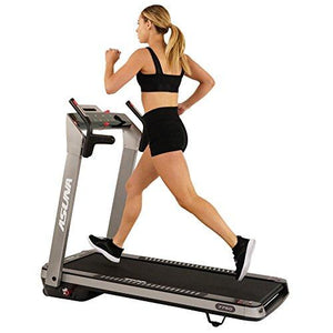 ASUNA SpaceFlex Motorized Running Treadmill with Auto Incline, Wide Treadmill, Space Saving Folding and Walking Treadmill