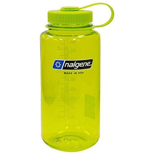 Nalgene Tritan Wide Mouth BPA-Free Water Bottle, Spring Green, 1 Quart Sport & Recreation Nalgene