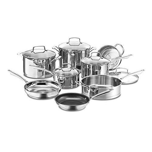 Cuisinart 89-13 13-Piece Professional Stainless Cookware Set