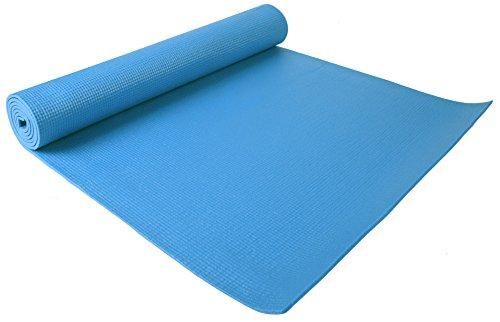 GoYoga All Purpose High Density Non-Slip Exercise Yoga Mat Accessory BalanceFrom