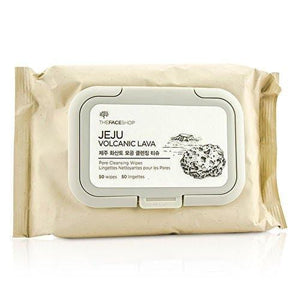 The Face Shop Jeju Volcanic Lava Pore Cleansing Wipes 50wipes