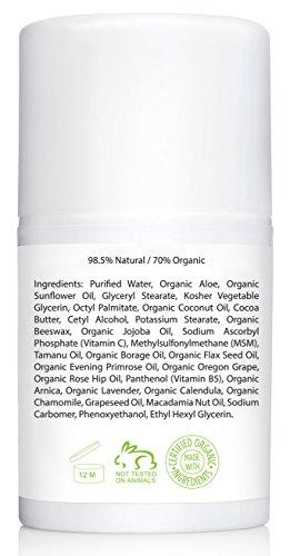 Amara Organics Vitamin C Cream for Face with Coconut Oil, Cocoa Butter & Jojoba Oil, 1.7 fl. oz.