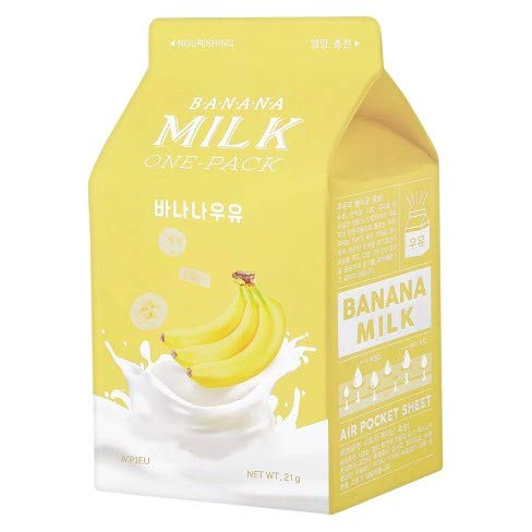 A'PIEU MILK-ONE-PACK 7 Sheets (Banana)