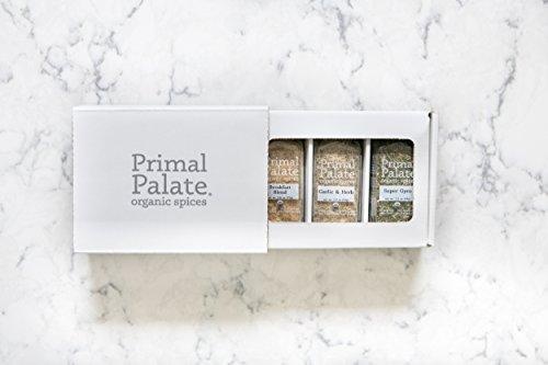 Organic Spices - Everyday AIP Blends 3-Bottle Gift Set Food & Drink Primal Palate Organic Spices