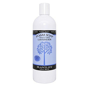 Lavender Hand & Body Foam Soap - 16oz Refill