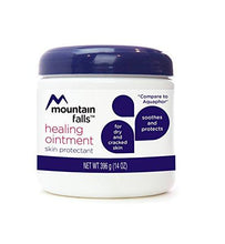Mountain Falls Healing Ointment Skin Protectant for Dry and Cracked Skin, Hypoallergenic, Compare to Aquaphor, 14 Ounce (Pack of 4)
