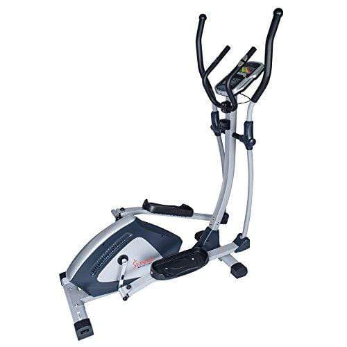Sunny Health & Fitness SF-E3804 Magnetic Elliptical Trainer Elliptical Machine w/LCD Monitor and Heart Rate Monitoring - Endurance Zone Sport & Recreation Sunny Health & Fitness