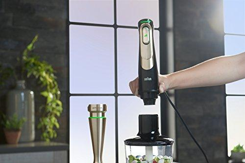 DeLonghi America, Inc MQ9097 Hand Blender, Black Kitchen & Dining Braun