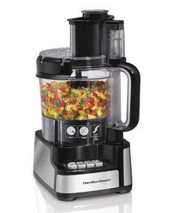 Hamilton Beach 12-Cup Stack and Snap Food Processor (70725A)