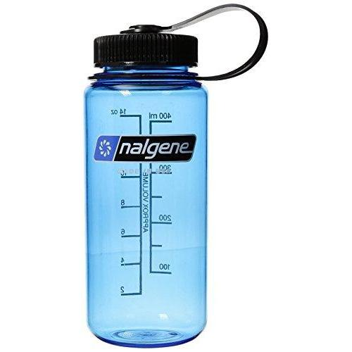 Nalgene Tritan 1-Pint Wide Mouth BPA-Free Water Bottle,Slate Blue,14 oz Sport & Recreation Nalgene