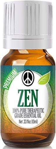 Zen Blend 100% Pure, Best Therapeutic Grade Essential Oil - 10ml - Sweet Marjoram, Roman Chamomile, Ylang Ylang, Sandalwood, Vanilla and Lavender
