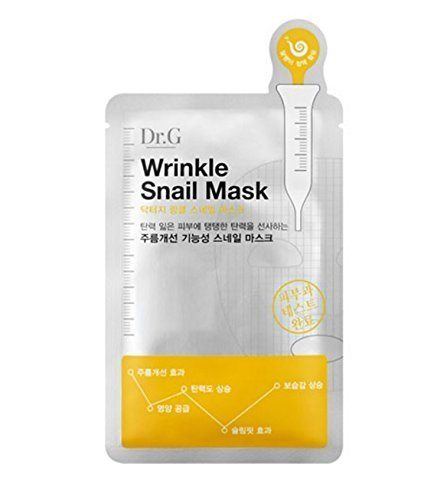 Dr.G Wrinkle Snail Mask Pack (Wringkle Care) 10ea